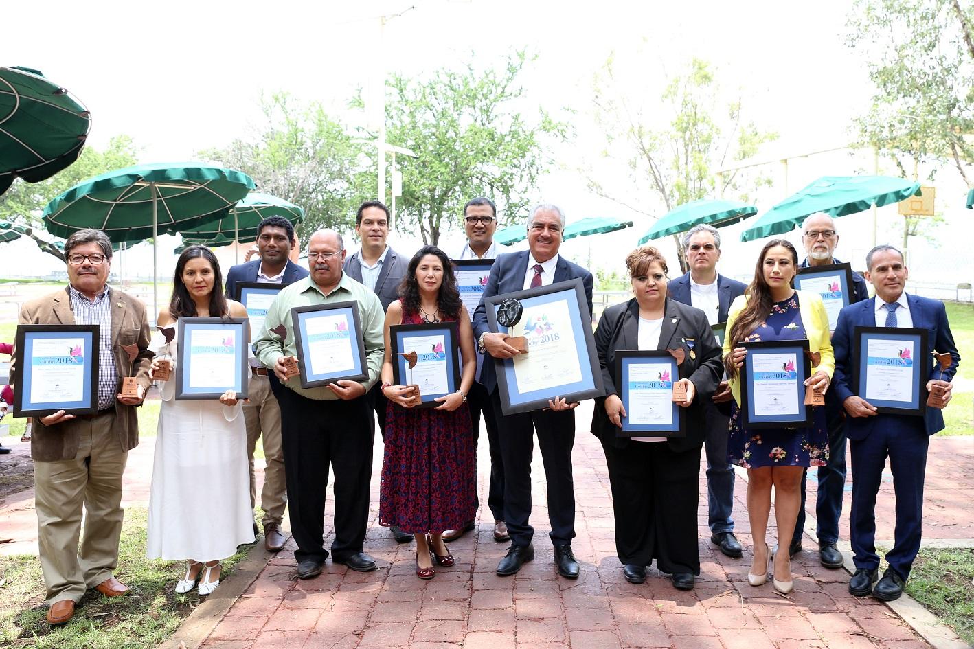 12 investigadores de la Red UdeG fueron reconocidos con el Galardón Colibrí 2018