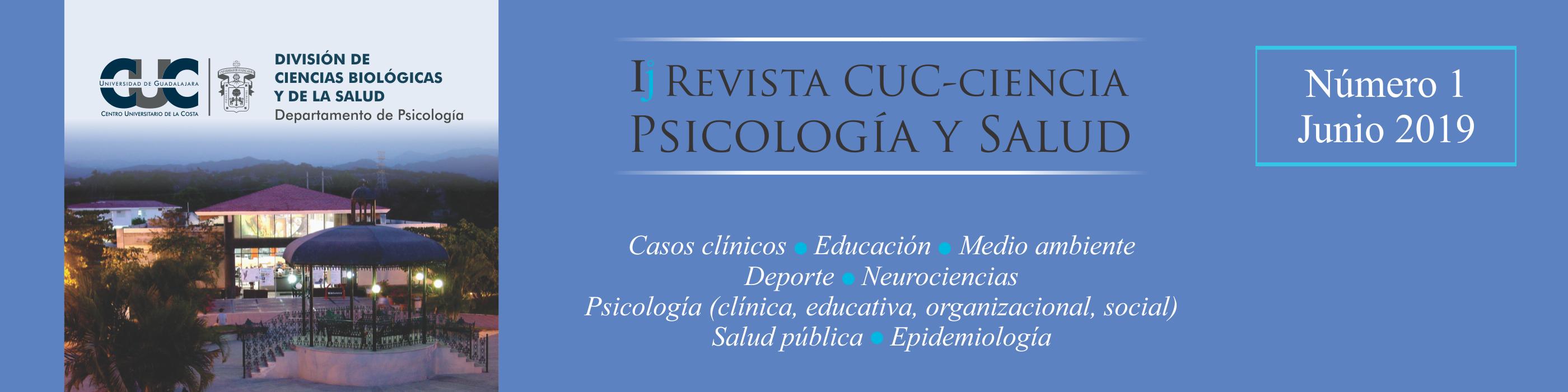 Revista cuc ciencia psicologia y salud digital - 2019