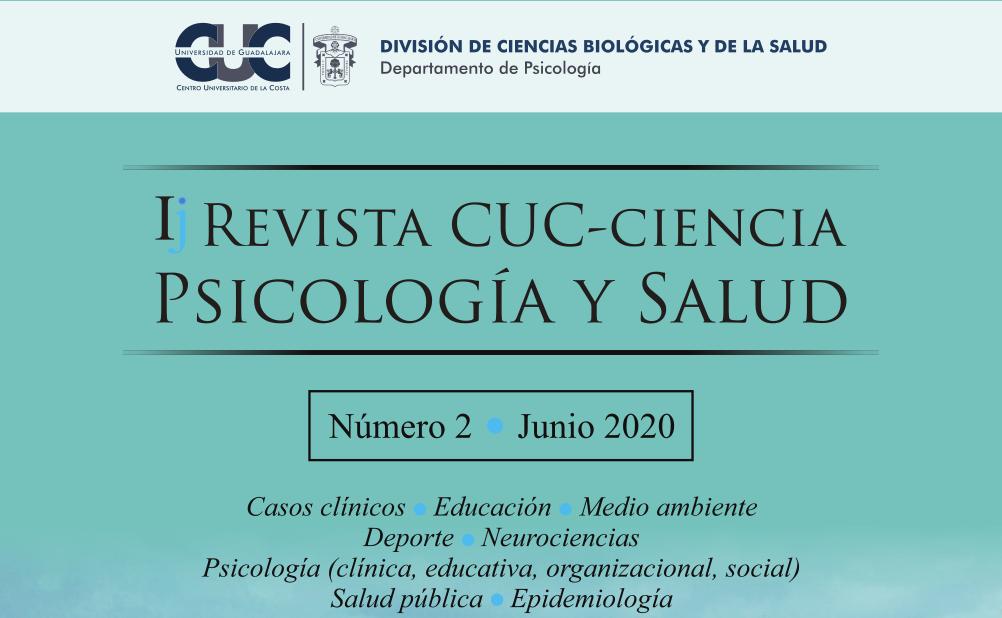 Revista cuc ciencia psicologia y salud digital - 2020