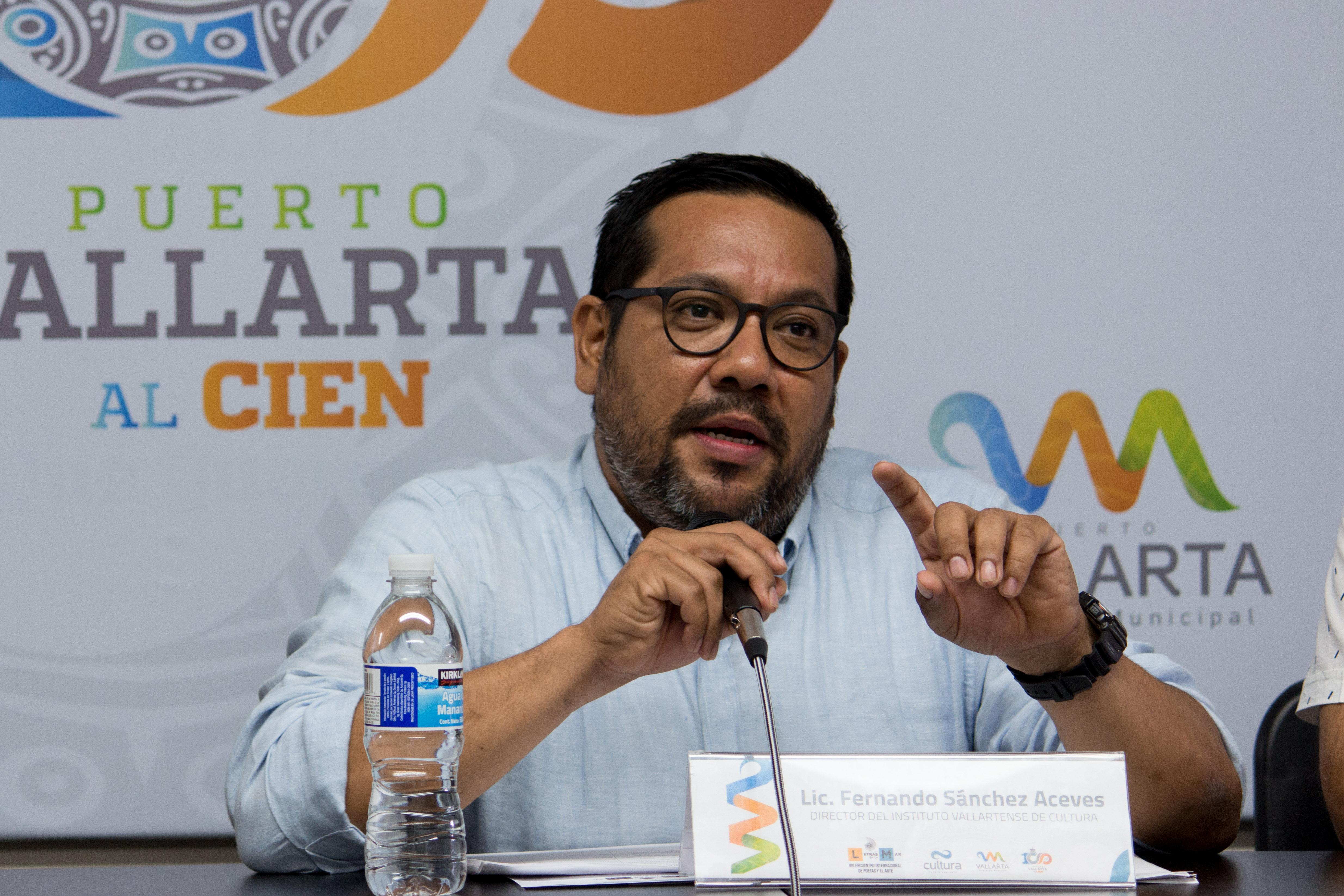 Luis Fernando Sánchez Aceves, director del Instituto Vallartense de Cultura