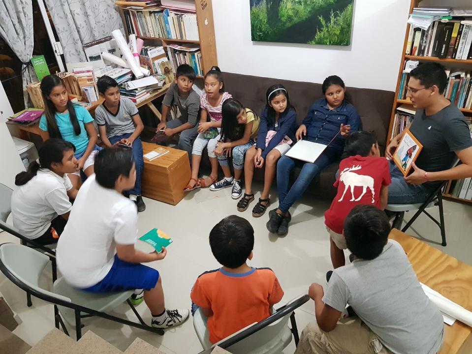 El proyecto independiente busca fomentar el hábito de la lectura