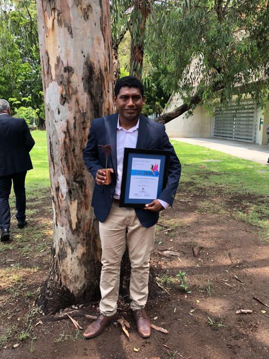 Morales Hernández es el investigador más joven en recibir el galardón