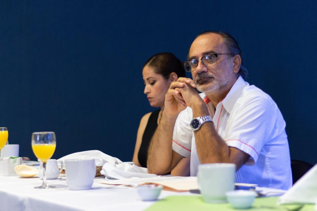 Representante del H. Consejo de Centro, doctor Edmundo Andrade Romo