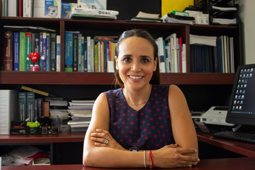 Dra. Clara Eugenia Moreno Ramírez, académica del CUCosta