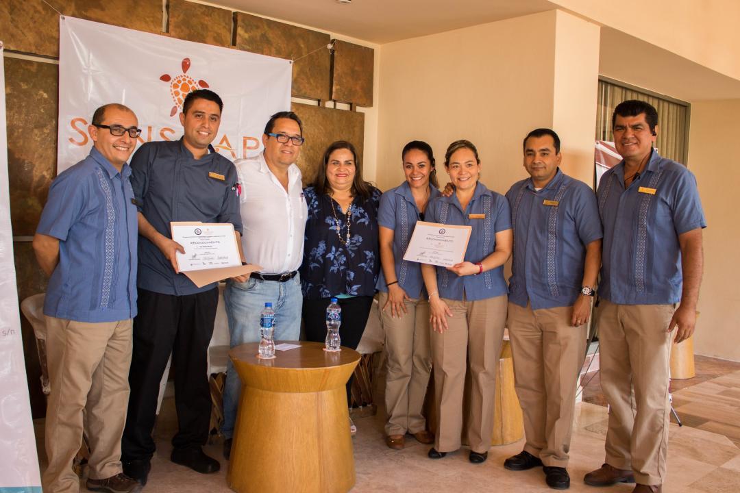 Personal de Sunscape Puerto Vallarta Resort & Spa fue reconocido por su contribución a los cursos