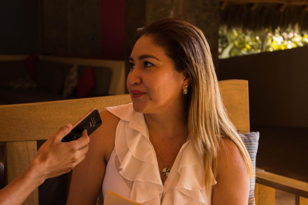 Yuridia Sánchez Abarca, participante de los cursos de inglés y francés