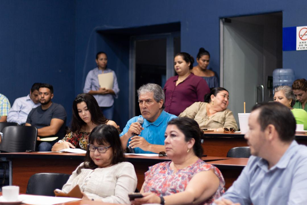 Jorge Ignacio Chavoya Gama Chavoya Gama expresó su gratitud y reconoció el trabajo del contralor saliente